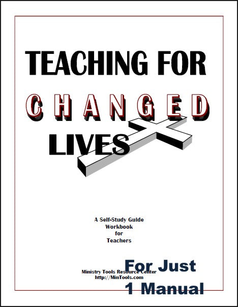 Teaching for Changed Lives Workbook