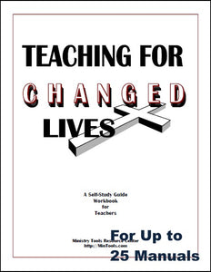 Teaching for Changed Lives Workbook for Group