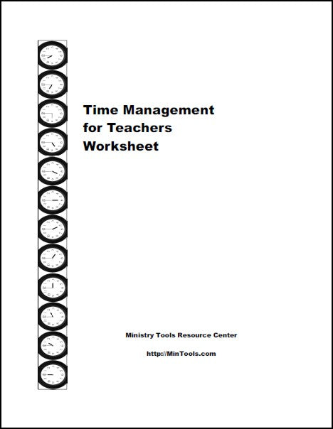 Time Management Plan & Skills for Bible Teachers