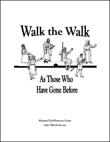 Bible Examples of People who Walked with God, Walk