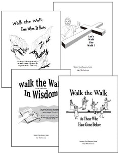 Walk the Walk Set of Devotionals