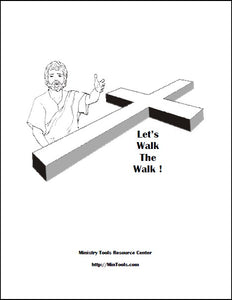 Let's Walk the Walk Devotionals