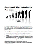 Youth - Teen Age Level Characteristics Module