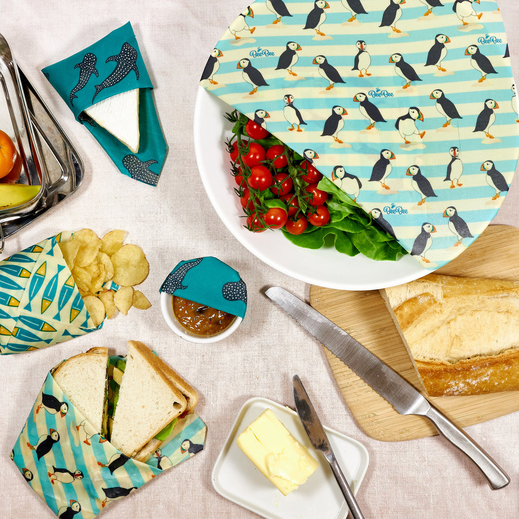 Why you should use our vegan and beeswax wraps