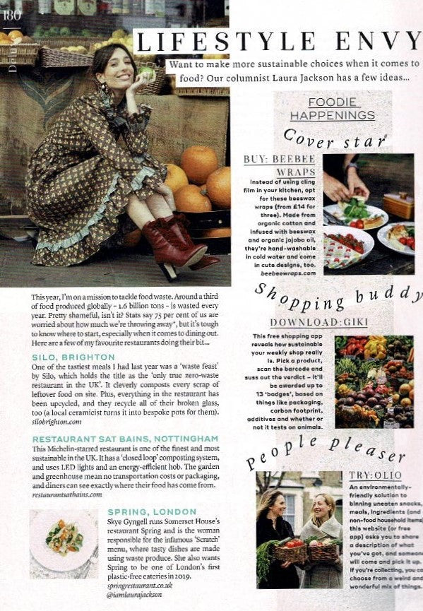 Marie Claire featuring BeeBee Wraps