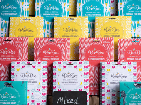 New BeeBee Wraps, new packaging