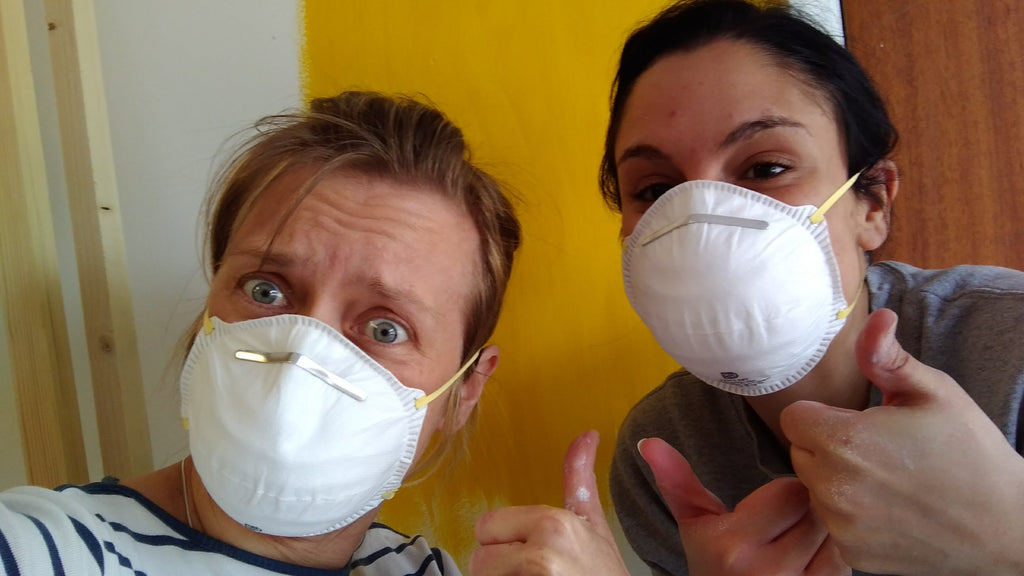 Dust mask chic
