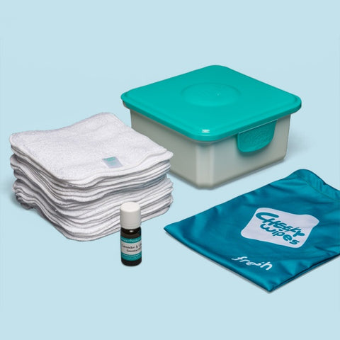 Cheeky wipes baby wipes kit