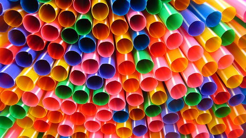 Single use plastic straws