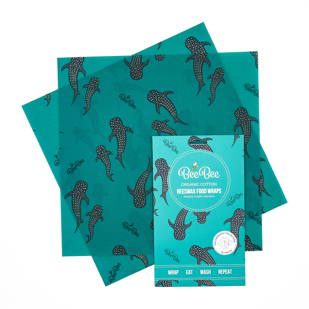 The Sandwich Pack Beeswax Wraps