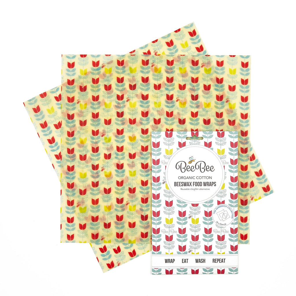 Tulip sandwich pack beeswax wraps