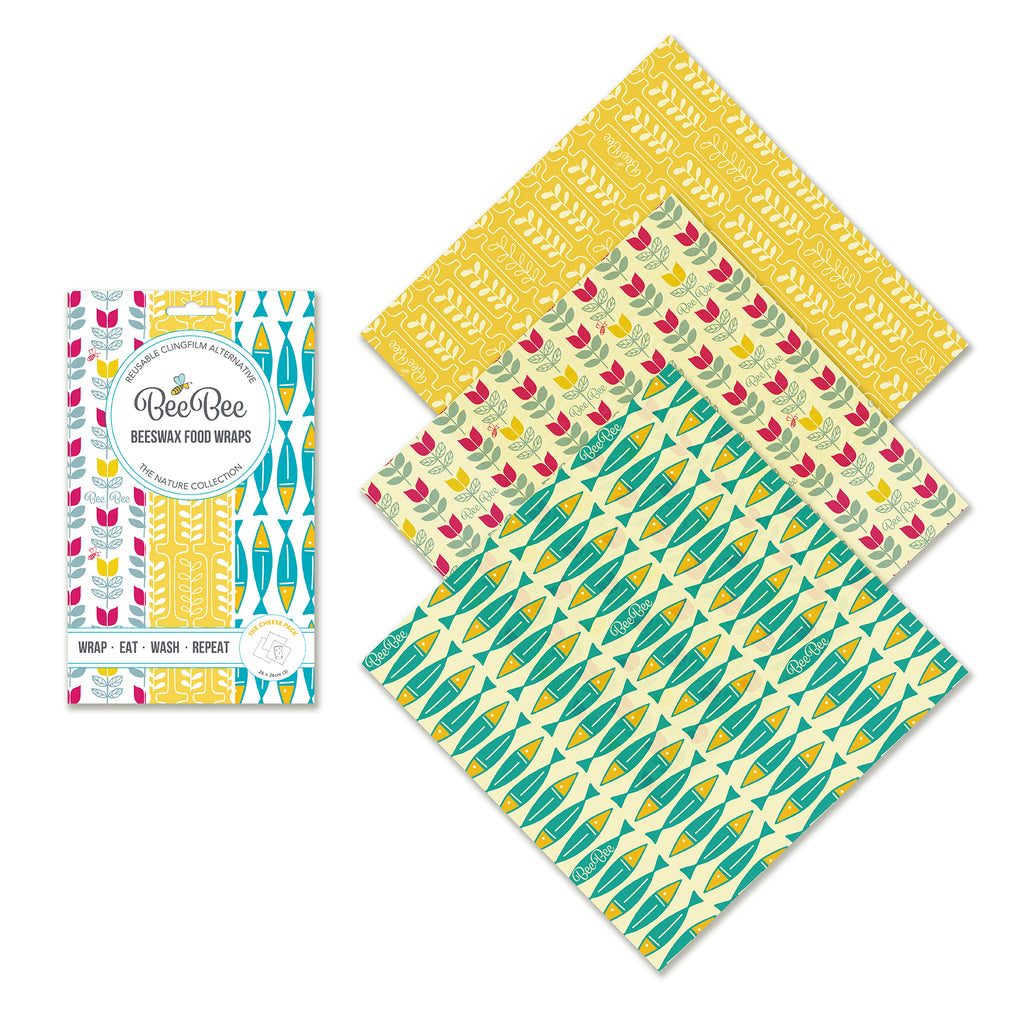 The cheese collection beeswax wraps sardines tulip wheat