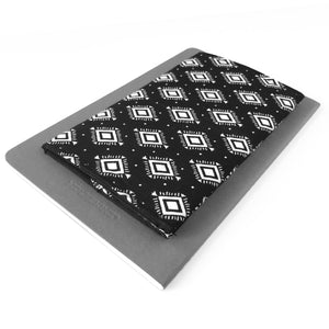 Black Aztec Checkbook Cover