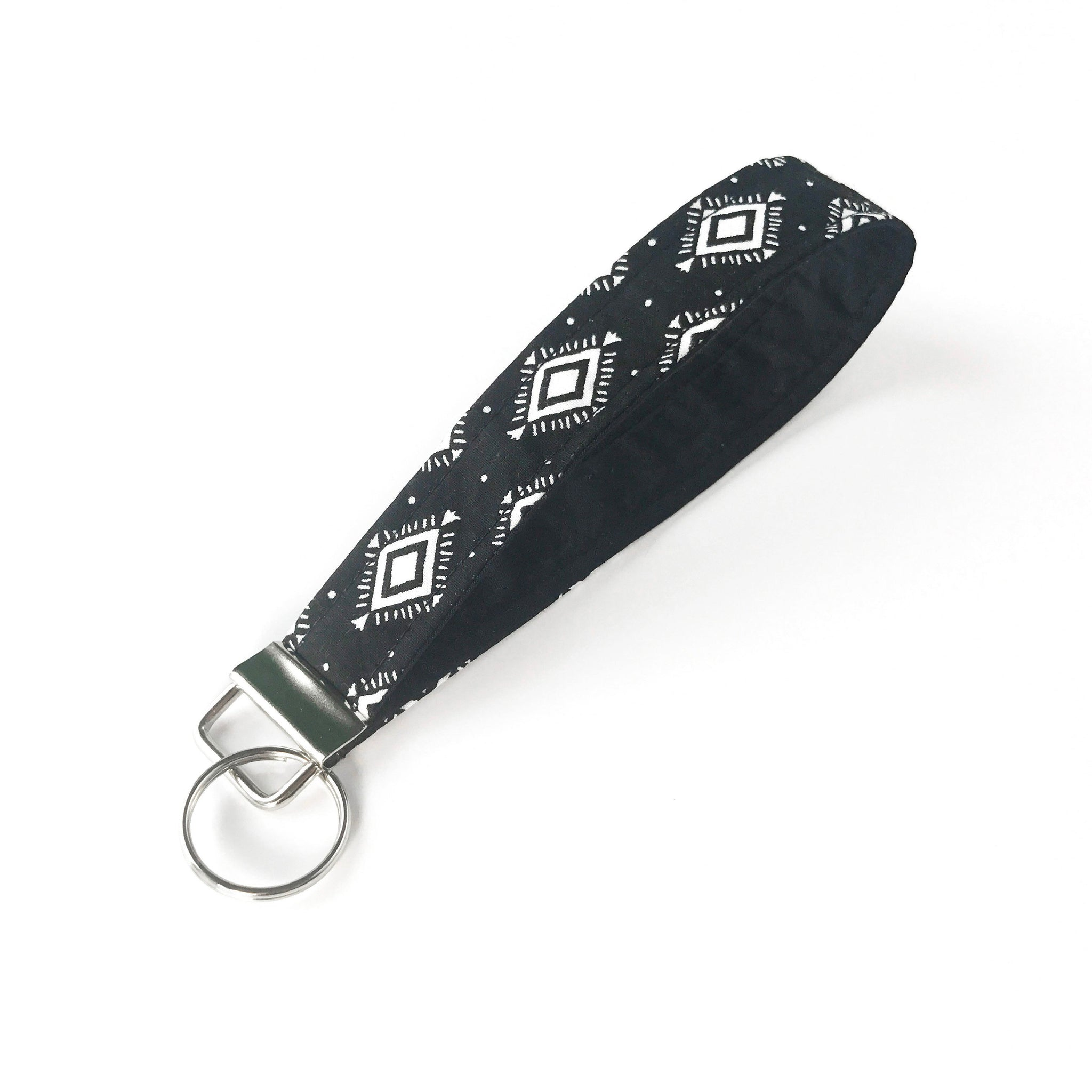 Black Aztec Key Fob