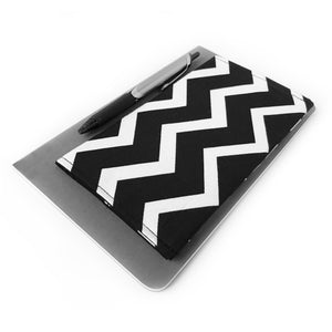 Black Chevron Checkbook Cover