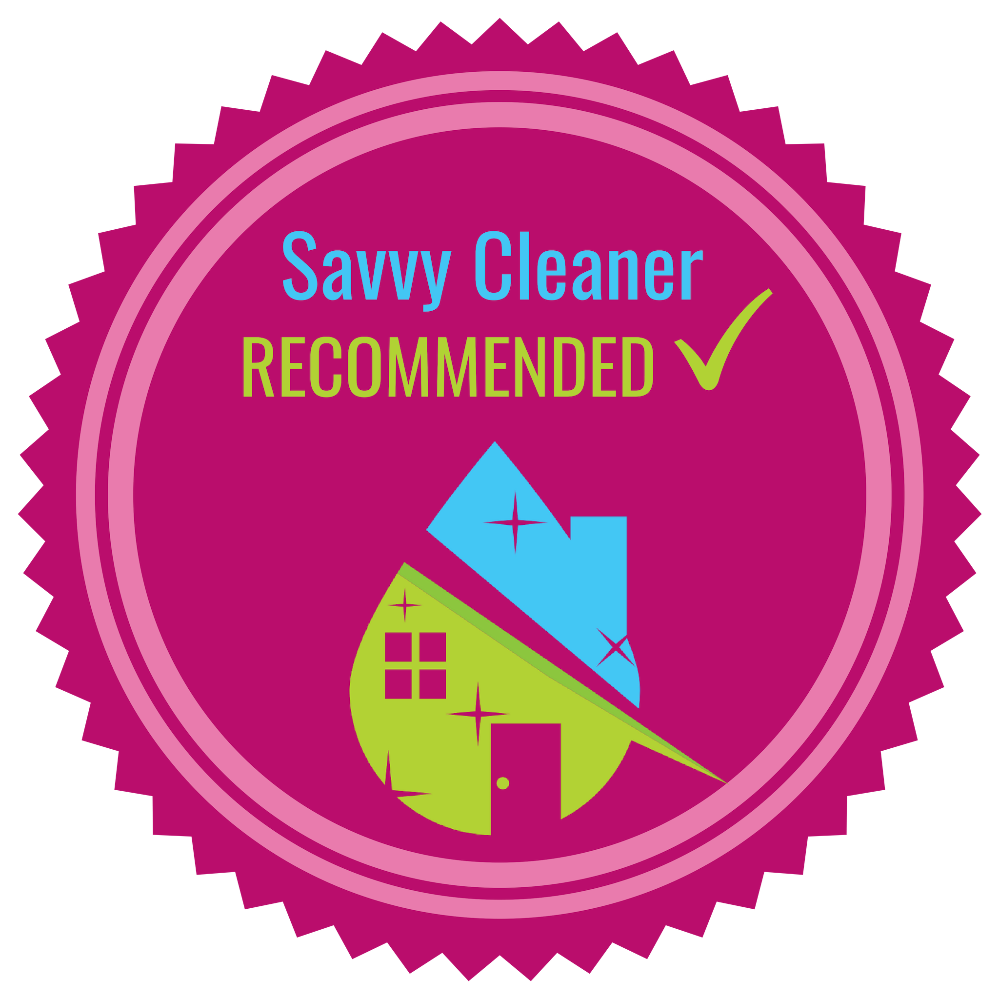 Savvy Cleaner Recommended