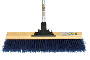 "24"" Big Mama Extra Coarse Push Broom (6 Pack) - FlexSweep"