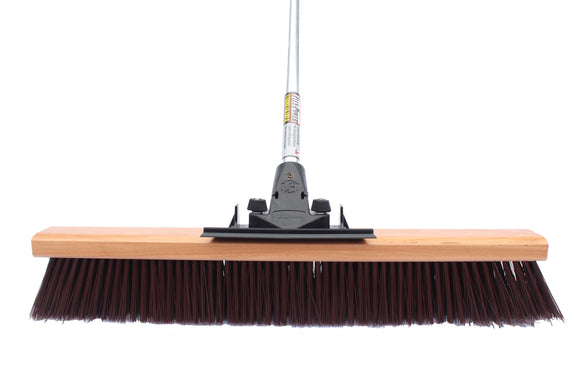 24″ Coarse Push Broom (6 Pack) - FlexSweep