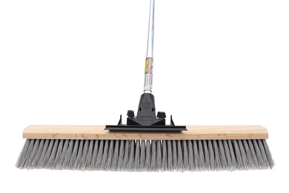 24″ Medium Push Broom (6 Pack) - FlexSweep