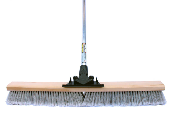 30″ Medium Push Broom (6 Pack) - FlexSweep