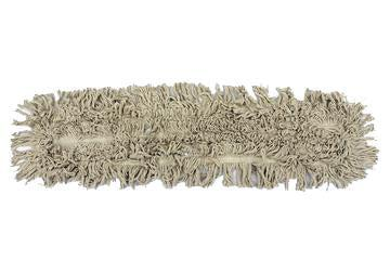 "36"" Closed Loop Cotton Dust Mop Heads (6 Pack) - FlexSweep"