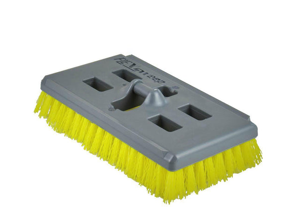 No-Flip Tech Non-Abrasive Swivel Scrub Brush (4 Pack) - FlexSweep