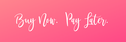 Use Afterpay to purchase your clothing, jewels, and accessories.