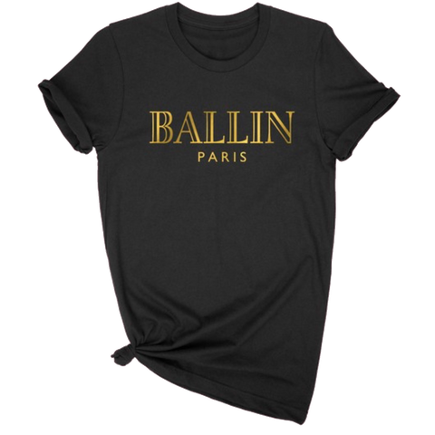 GOLD BALLIN GRAPHIC T-SHIRT