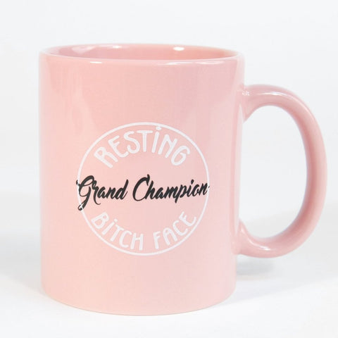 Grand Champion Resting Bitch Face Coffee Mug 1108 Boutique