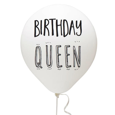 Birthday Queen Balloon Pack - Multi Color 1108 Boutique