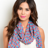 Women's Light Weight Festival Scarf 1108 Boutique