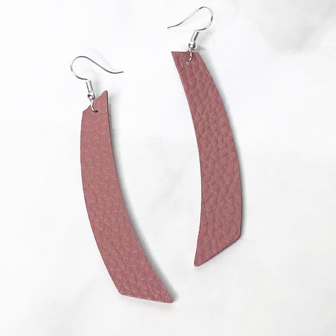 Blush Pink Accent Earrings 1108 Boutique