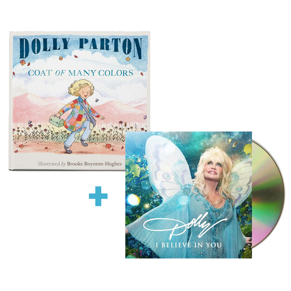 I Believe in You CD + Coat of Many Colors Book - Exclusive Bundle