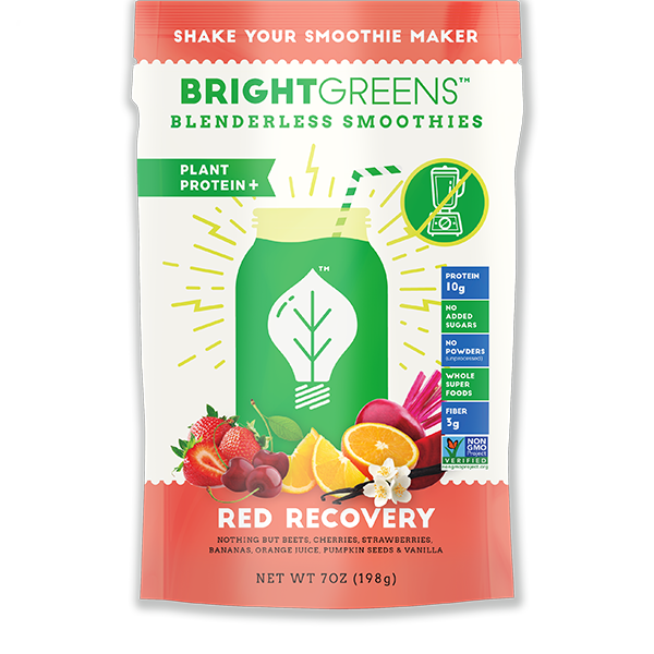RED RECOVERY - Bright Greens Green Smoothie Shake Ups