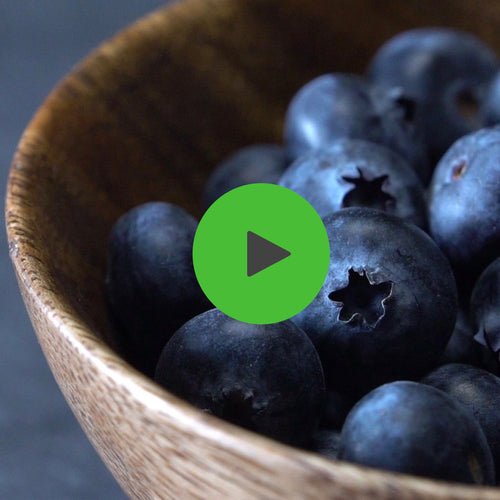 BRIGHT BLUEBERRY SMOOTHIE - Bright Greens Green Smoothie Shake Ups