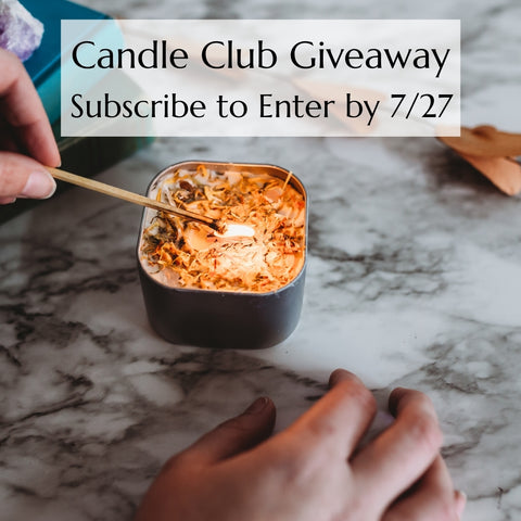 candle club giveaway