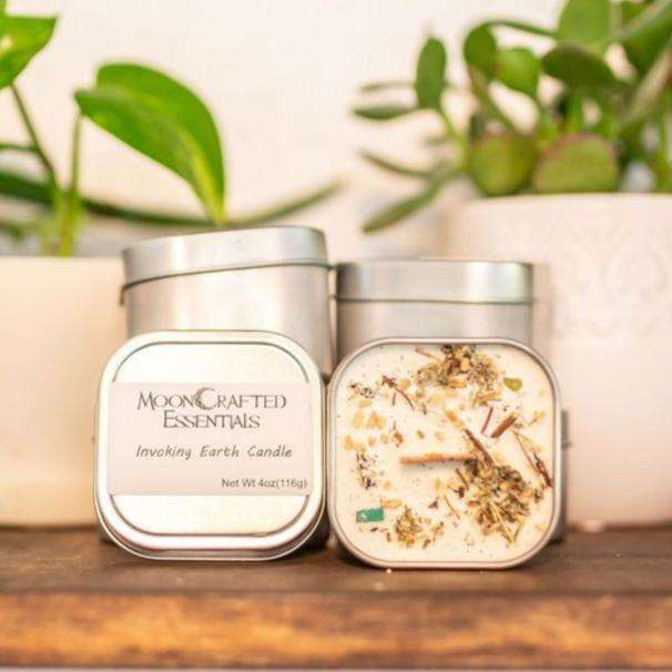 MoonCrafted Essentials:Invoking Earth Candle,Candle