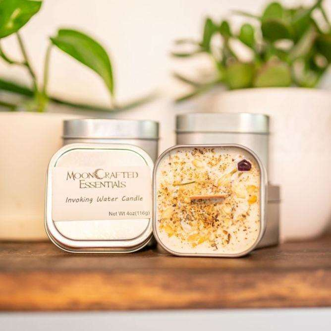 MoonCrafted Essentials:Invoking Water Candle,Candle