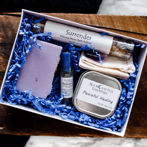 MoonCrafted Essentials:Peaceful Healing Box,Gift Set