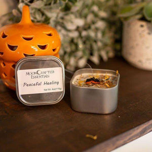 MoonCrafted Essentials:Peaceful Healing Candle,Candle
