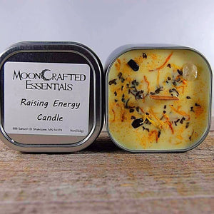 MoonCrafted Essentials:Raising Energy Candle,Candle