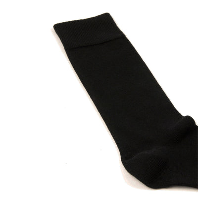 Chaussettes noires homme The Clothing Kit - Talon
