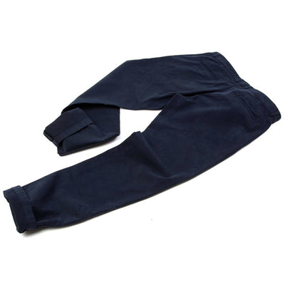 Pantalon chino bleu marine homme The Clothing Kit - Dos