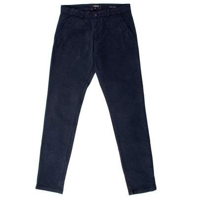 Pantalon chino bleu marine homme The Clothing Kit - Face