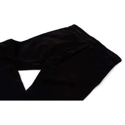 Pantalon chino noir homme The Clothing Kit - Dos