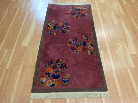 Art Deco Style Chinese Oriental Rug