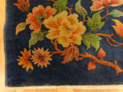 Peony in Chinese Rug