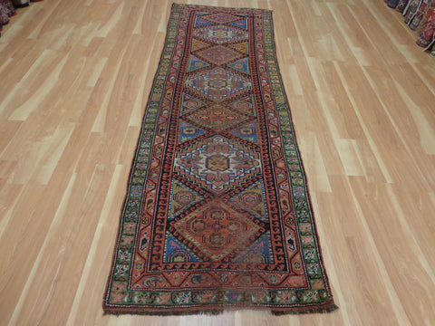 Persian Kurdistan Tribal Rug Runner