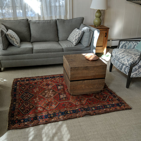 Persian Rug in the Living room