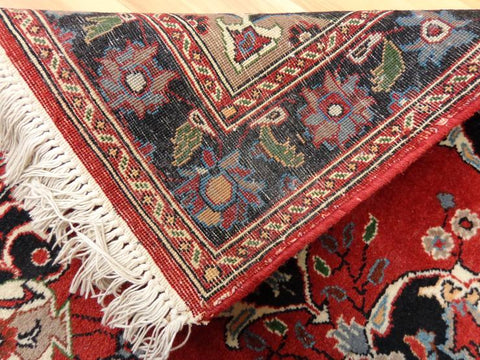 Knotted Fringe on Oriental rug